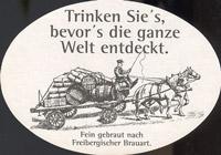 Pivní tácek freiberger-19-zadek