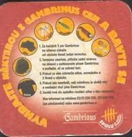 Pivní tácek gambrinus-1-zadek