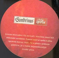 Beer coaster gambrinus-11-zadek