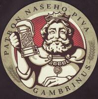 Pivní tácek gambrinus-110-small