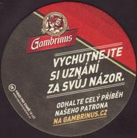 Pivní tácek gambrinus-110-zadek-small