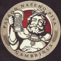 Pivní tácek gambrinus-129-small