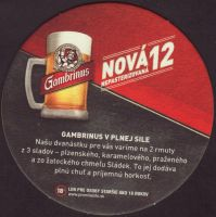 Pivní tácek gambrinus-140-zadek-small