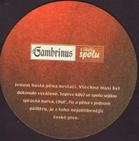 Beer coaster gambrinus-141-zadek-small