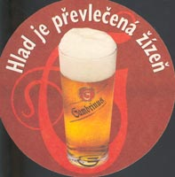 Beer coaster gambrinus-15-zadek