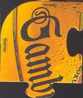 Pivní tácek gambrinus-22