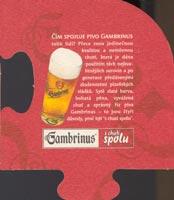 Pivní tácek gambrinus-23-zadek