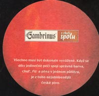 Beer coaster gambrinus-24-zadek