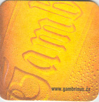 Pivní tácek gambrinus-25-zadek