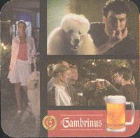 Pivní tácek gambrinus-26-zadek