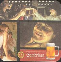 Pivní tácek gambrinus-27-zadek