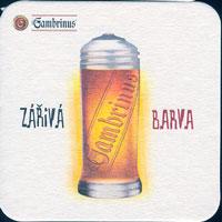 Pivní tácek gambrinus-29-oboje