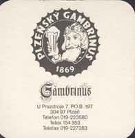 Pivní tácek gambrinus-3-zadek
