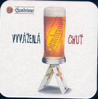 Pivní tácek gambrinus-31-oboje