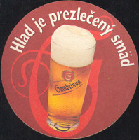Beer coaster gambrinus-37-zadek
