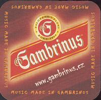 Pivní tácek gambrinus-40