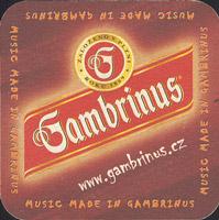 Pivní tácek gambrinus-45