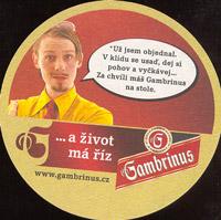 Pivní tácek gambrinus-47-zadek