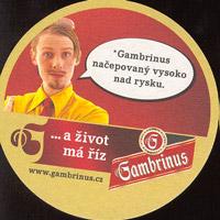 Pivní tácek gambrinus-48-zadek