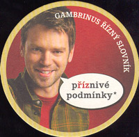 Beer coaster gambrinus-49