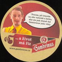 Pivní tácek gambrinus-50-zadek