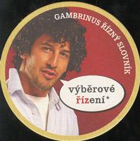 Pivní tácek gambrinus-50