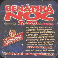 Pivní tácek gambrinus-51-zadek