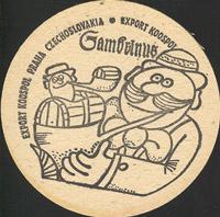 Pivní tácek gambrinus-53