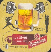 Pivní tácek gambrinus-56