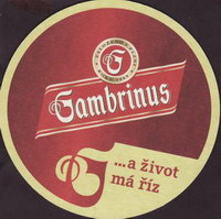 Pivní tácek gambrinus-58-small