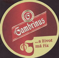 Pivní tácek gambrinus-60-small