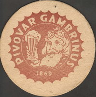Beer coaster gambrinus-69-oboje-small