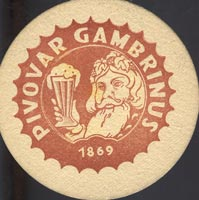 Beer coaster gambrinus-7