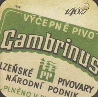 Pivní tácek gambrinus-74-zadek-small