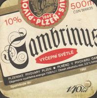 Pivní tácek gambrinus-76-zadek-small