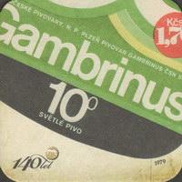 Pivní tácek gambrinus-78-zadek-small