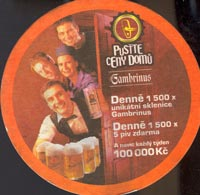 Beer coaster gambrinus-8