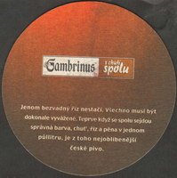 Beer coaster gambrinus-80-zadek-small
