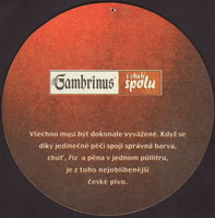 Beer coaster gambrinus-82-zadek-small