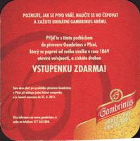 Pivní tácek gambrinus-91-zadek-small