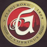 Pivní tácek gambrinus-92-small