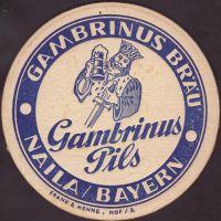 Beer coaster gambrinus-brau-naila-2-small