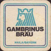 Beer coaster gambrinus-brau-naila-3-small