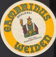 Pivní tácek gambrinus-brauerei-rohrwild-1