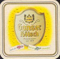 Pivní tácek ganser-2