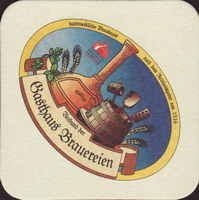Beer coaster gasthaus-brauereien-1