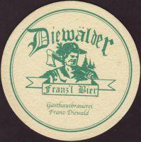Beer coaster gasthausbrauerei-diewald-2-zadek-small