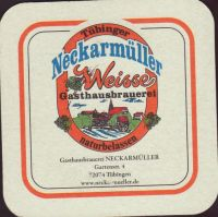 Beer coaster gasthausbrauerei-neckarmuller-1