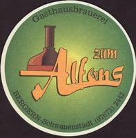 Pivní tácek gasthausbrauerei-zum-alfons-1-small