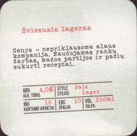 Pivní tácek genys-16-zadek-small
